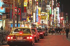 The bright neon lights of Kabukicho in #Tokyo