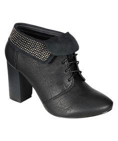 Loving this Black Salem Ankle Boot on #zulily! #zulilyfinds
