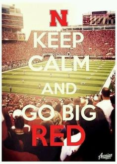 Go Big Red !! //I should blow this up into a giant poster and hang it on my wall!!!