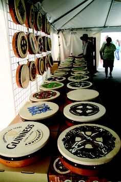 The whole family can learn to play the bodhran at the 2014 Milwaukee Irish Fest! Come join the fun August 14-17!