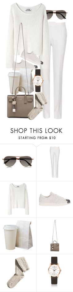 """Untitled #8293"" by nikka-phillips ❤ liked on Polyvore featuring Tom Ford, STELLA McCARTNEY, Acne Studios, adidas Originals, Yves Saint Laurent, H&M and Calvin Klein"