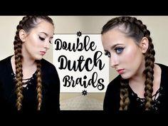 getlinkyoutube.com-HOW TO: DUTCH/FRENCH BRAID YOUR OWN HAIR