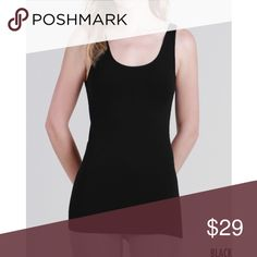 Luxuriously Soft Micro Modal Tank Micro Modal Tank.   Meet MicroModal ®, the newest, softest and most luxurious fiber that has ever touched your skin! Refining the already-acclaimed Modal® yarn into super fine and heavenly soft fibers that boast a lighter weight & even softer touch, our MicroModal is the definition of high quality, indulgent fabric that will feel like second skin.  - Production process is eco- friendly Fabric 85% Micromodal 7% Nylon 8% Spandex Made in USA.  Prices are FIRM…