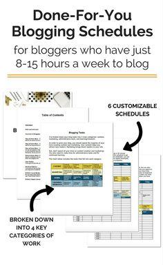 make your schedule online