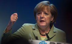 """Kanzlerin Merkel beim Tag der Deutschen Industrie: """"Nachfrage stimulieren"""""""