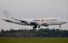 MyCargo Airlines, Turkey. All cargo airline. Boeing 747-400F freighter. via PJ de Jong