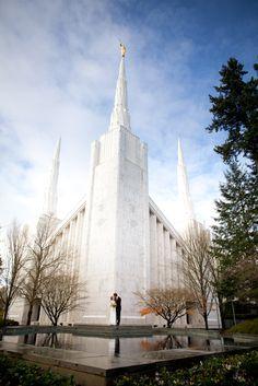 The Portland Oregon Temple... someday I shall roam the halls within its wondrous walls.