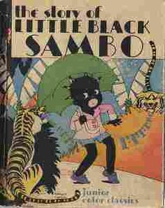 Vintage Childrens Book LITTLE BLACK SAMBO First Edition |Little Boy Sambo