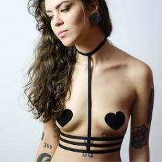 2016 new pastel goth sexy women body harness top gothic  bondage lingerie harness bra binding garter belt retail♦️ B E S T Online Marketplace - SaleVenue ♦️ http://www.salevenue.co.uk/products/2016-new-pastel-goth-sexy-women-body-harness-top-gothic-bondage-lingerie-harness-bra-binding-garter-belt-retail/ US $5.72