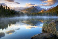 Bear Lake Fog at Sunrise by Richard Hahn on 500px