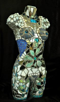 Beautiful Life Sized Mosaic Mannequin by Highgateceramics on Etsy, £1100.00