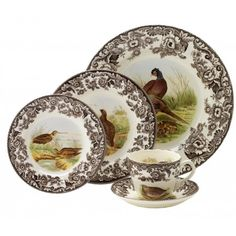Spode Woodland 5-Piece Place Setting - Woodland - Collections -Official Spode USA Site