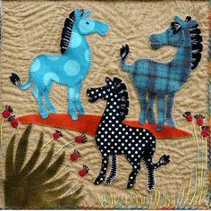 Wool Applique Pattern at Le Jardin de Woolens