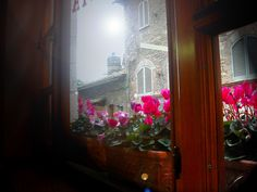 Assisi - scatto dal tavolo di un Cafè