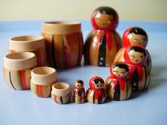 polish nesting dolls  (by 'maxim RABBIT designs' on flickr). All rights reserved.