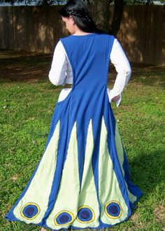 Gates of hell dress or sideless surcoat.