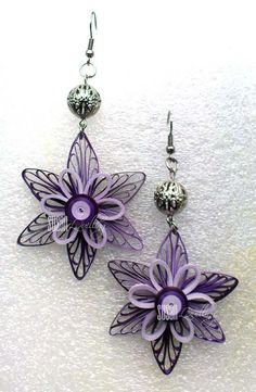 These is all of my quilling jewelry projects. This is it: Purple Blooms   Purple Blooms-2   Ethnic in Black   Ethnic in Black-2   Red & Blac...