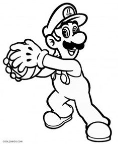 luigi mansion coloring pages  coloring pages  pinterest