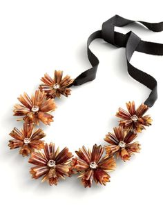 J.Crew women's dahlia necklace.