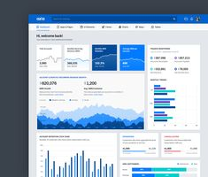 Buy Azia Responsive Bootstrap 4 Dashboard Template by themepixels on ThemeForest. Azia, a next generation modern and clean Bootstrap 4 dashboard and admin template using flat, modern and minimal des. Marketing Dashboard, Dashboard Template, Bootstrap Template, Ui Web, Ui Design, Design Room, Dashboards, Data Visualization