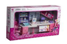 Set de oficina para muñecas, marca Sweet Home.