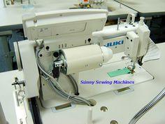 the back of JUKI DDL-8700-7 Automatic Single Needle Lockstitch Sewing Machine