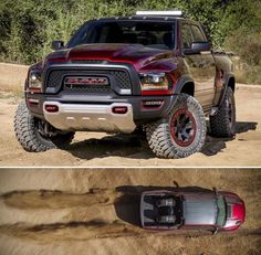 "RAM Rebel TRX concept ... 13"" of travel with a hellcat motor = closest thing Ford Raptor has for competition ?  https://www.youtube.com/watch?v=-D5dZI1amfM&app=desktop"