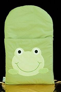 Cotton Characters Nap Mat Color: Green Frog