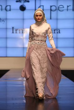 Muslim Bridal Dress by Irene Mutiara