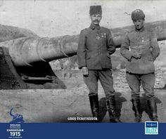 Fransız Zırhlısı bouvet i batiran top ve batarya kumandani hilmi ile teğmen fahri