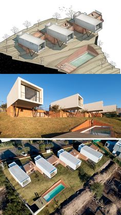 Los Miradores   Andrés Alonso Arquitecto #arch2o #architecture #design #home #house #3d #pool #box