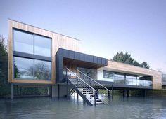 floodplain; Hind House by J Pardey
