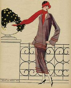 1920's French fashion