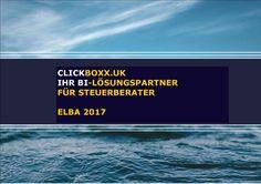 CLICKBOXX.UK DIGITAL ELBA 2017 Handlungsbedarf für Steuerberater. beratung@clickboxx.uk