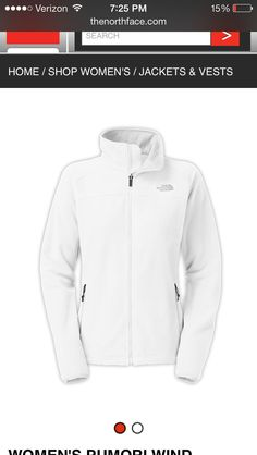North face- white out!