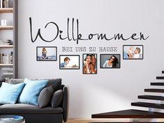 Wandtattoo Fotorahmen Willkommen bei... hier bestellen. ✓ Große Auswahl   Top Qualität   schnelle Lieferung   kostenloser Versand (D) bei Wandtattoos.de.