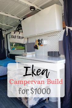 1000 IKEA Vanbuild Project Here s how we build our van to live in full-time using 90 IKEA furnishing 1000 IKEA Vanbuild Project Here s how we build our van to live in full-time using 90 IKEA furnishing Meghanen nbsp hellip life storage beds Build A Camper Van, Diy Camper, Camper Life, Convert Van To Camper, Self Build Campervan, Diy Van Conversions, Camper Van Conversion Diy, Cargo Van Conversion, Ford Transit Camper Conversion