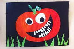 Hummingbird's Song: Halloween Pumpkin Art Project!