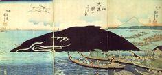 歌川国芳:大漁鯨のにぎわひ
