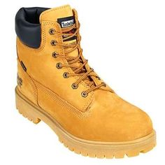Timberland PRO Boots: Men's Waterproof 65016 Wheat Nubuck Steel Toe Boots Timberland PRO footwear offers the perfect way for you to stay warm, dry, and comfortable. These Timberland PRO Men's Waterproof 65016 Wheat 6-Inch Nubuck Steel Toe Work Boots do just this. When you put on these insulated boots, you won't have to worry about injury too much because these safety toe boots comply with national safety standards!