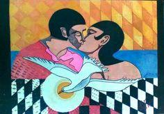 "Vasto Gallery: Felice Molino - FeMo, ""Amore libero"", 1984."