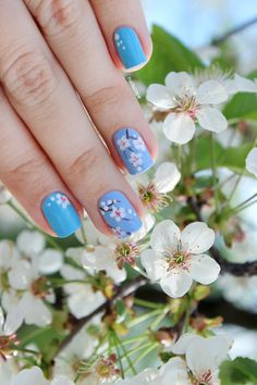 Cherry Blossom Nails | NailScope: Cherry Blossom Nails