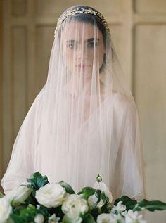 Elegant Bridal Portraits with Old World Style.
