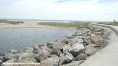 North Wildwood Seawall in Wildwood New Jersey  - The Perfect Place to Take a Beachfront Walk