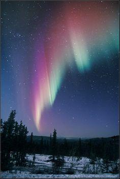 """Aurora & Comet Ikeya-Zhang"" by Dennis Mammana (TWAN)"