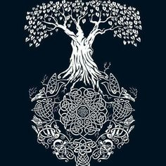 Celtic norse tree of life