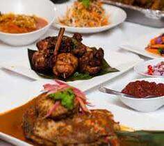 Nyonyafest. Inche Kabin, Assam Pedas Fish, Chinchalok,