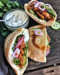 Pita, Tasty Dishes, Street Food, Food Pictures, Cookie Recipes, Food Porn, Food And Drink, Easy Meals, Yummy Food