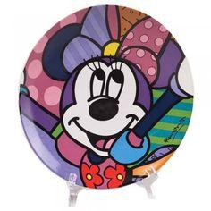 Disney Minnie Ceramic Plate #pretty