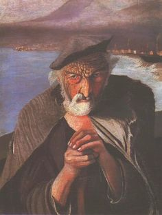Old Fisherman, 1902 by Tivadar Kosztka Csontvary on Curiator, the world's biggest collaborative art collection. Paul Gauguin, Gustav Klimt, Old Fisherman, Post Impressionism, Mark Rothko, Old Paintings, Art Database, Hanging Art, Oeuvre D'art